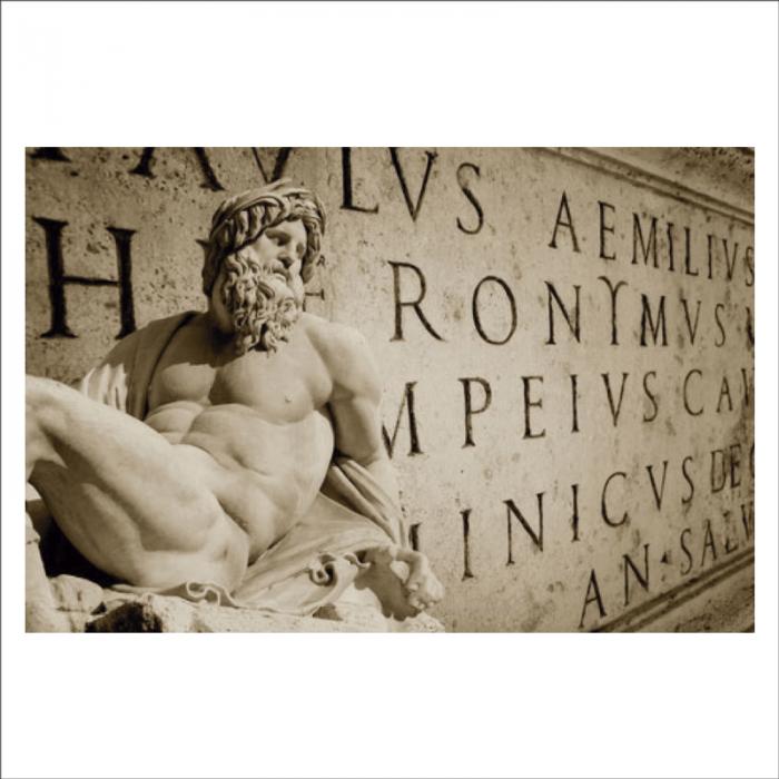Grabado romano en piera
