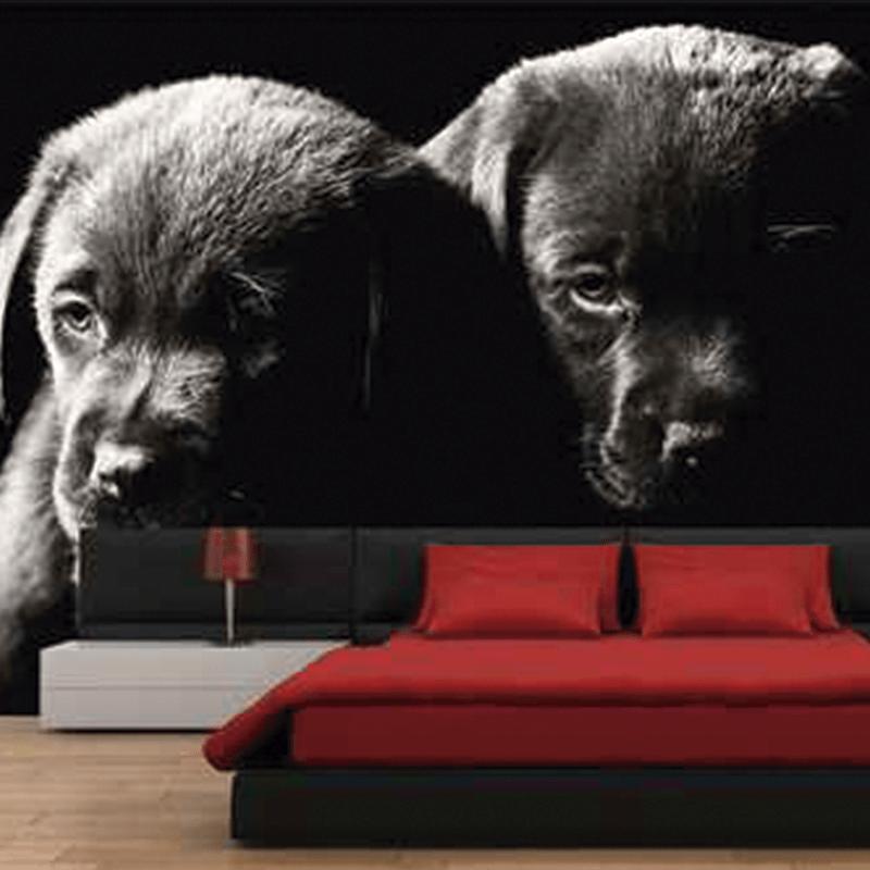 Simulacion cachorros de labrador