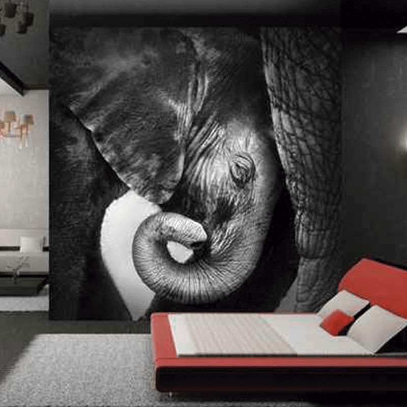 Simulacion cria de elefante
