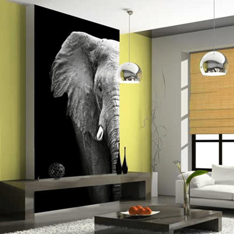 Simulacion colocacion lamina decorativa pared