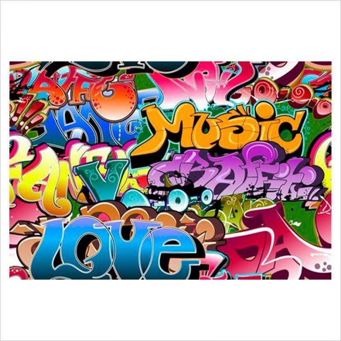 fotomural pared graffiti