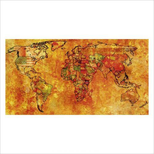 mapas del mundo politico para decoracion