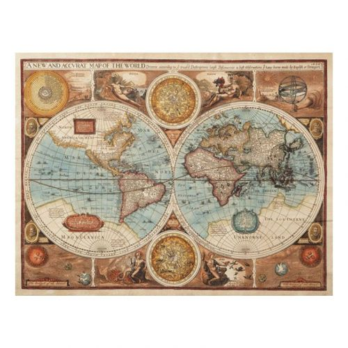 papel pintado mapa del mundo