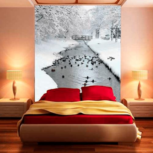 Simulacion patos en el rio