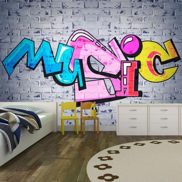Simulacion graffiti music
