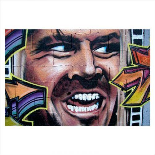 diseños graffiti, el resplandor
