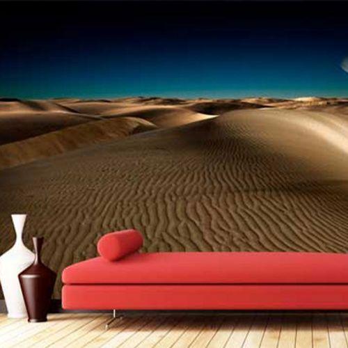 Simulacion fotomural desierto