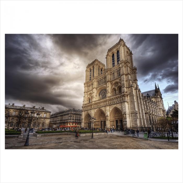 Fotomurales ciudades del mundo: Notre Dame