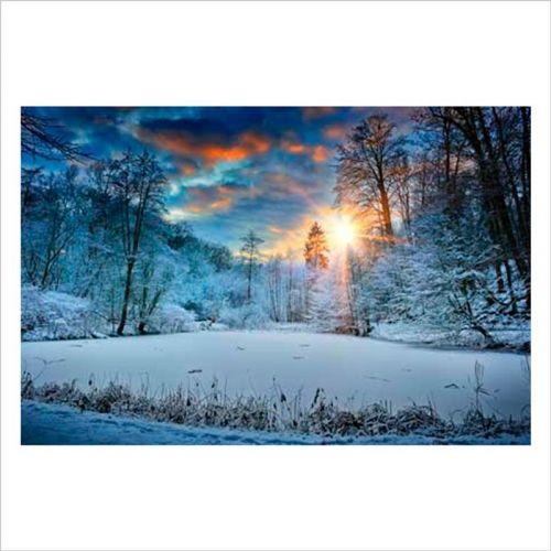 Fotomurales de pared paisaje nevado