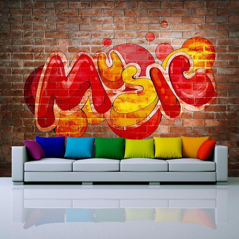Simulacion music en graffiti