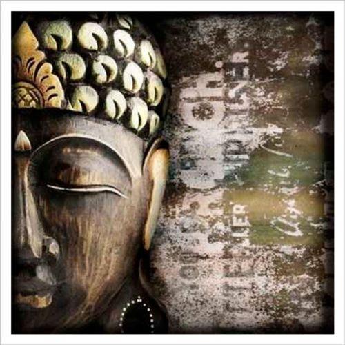 Imagenes zen, buda negro