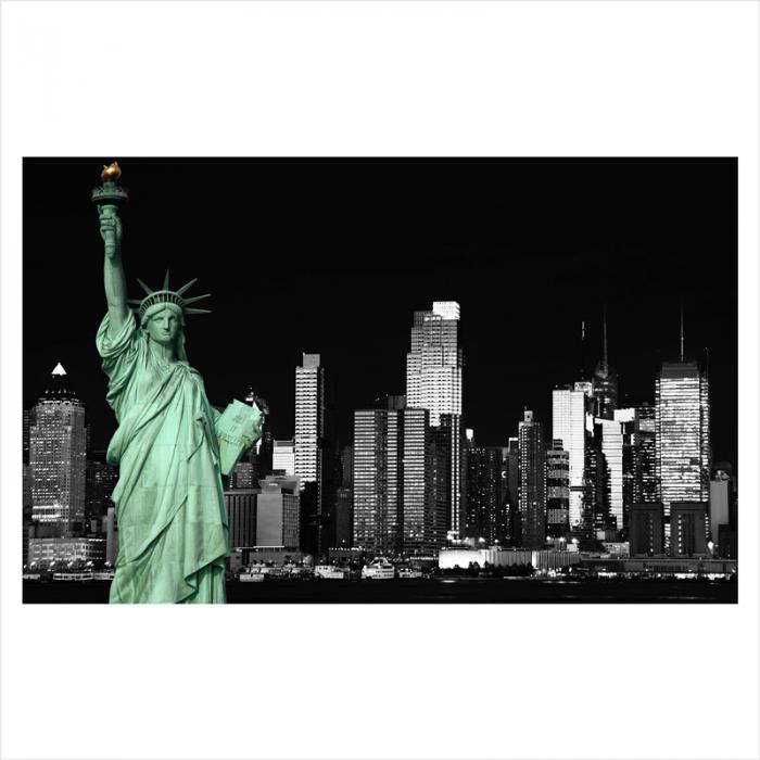 murales ciudades para pared Estatua de la Libertad