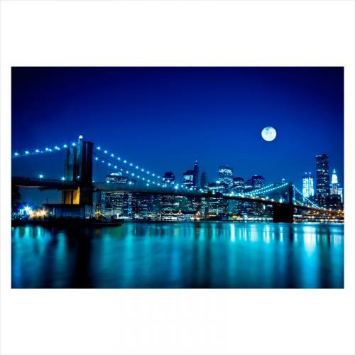 murales de ciudades para pared: Puente de Brooklyn