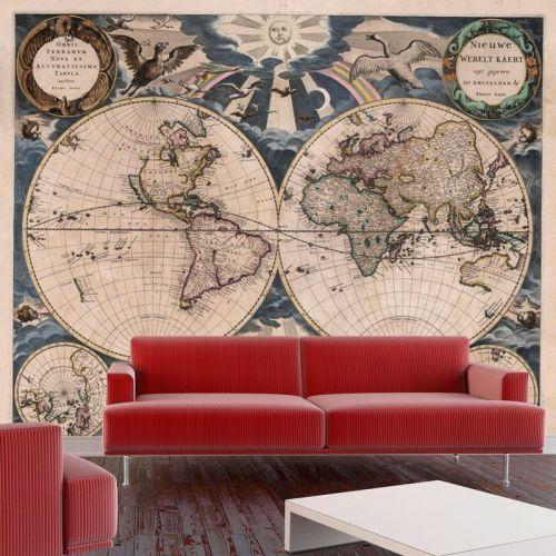 Simulacion mapa hemisferios