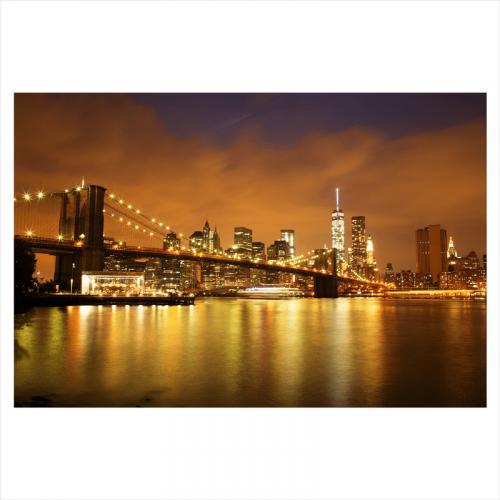 papel mural ciudad: puente de brooklyn