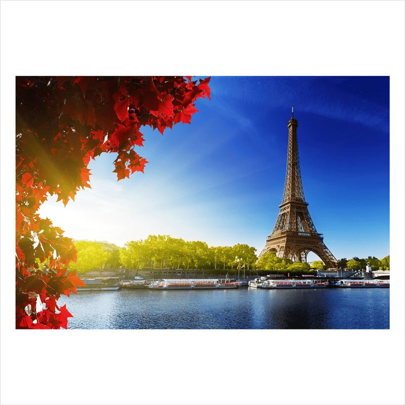 papel mural de ciudad: París Torre Eiffel