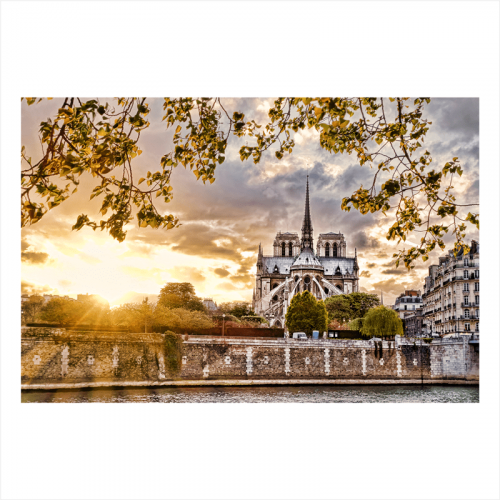 papel mural de ciudades: París Notre dame