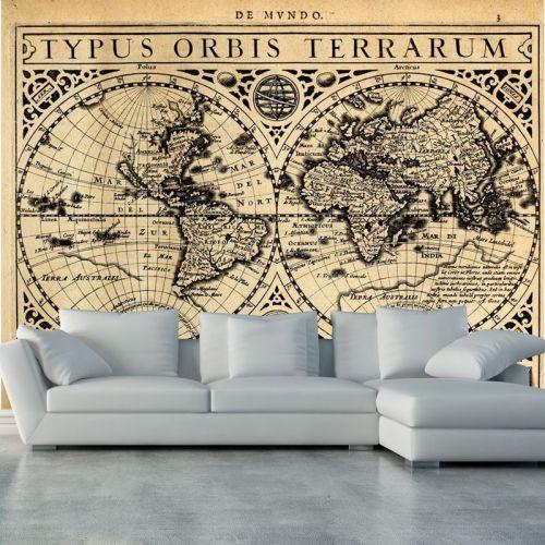 Simulacion viejo mapa de amrica