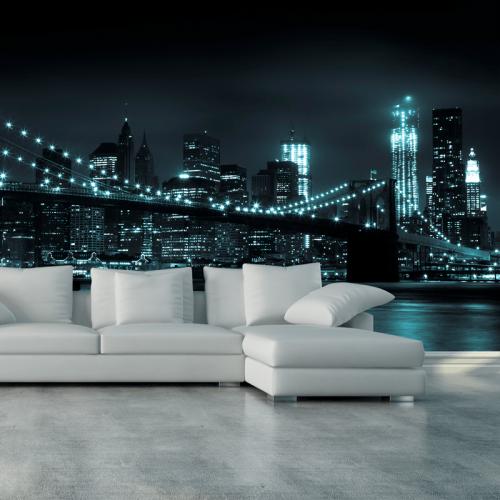 Simulacion colocacion New York: Puente de Brooklyn
