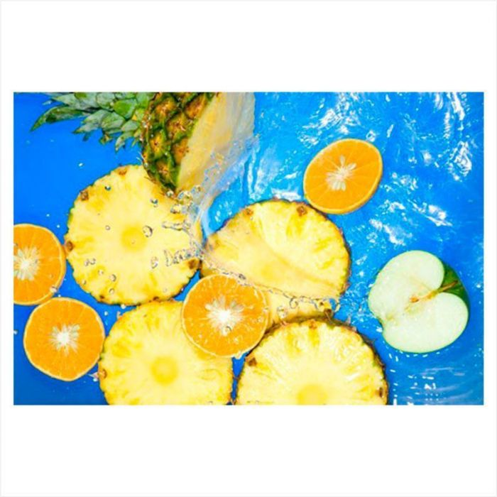 papel pintado cocina frutas