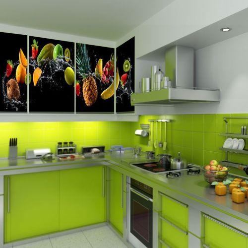 Simulacion mural frutas y verduras