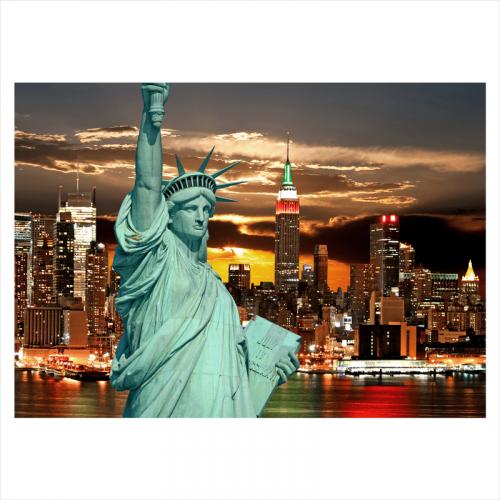 vinilo ciudad de nueva york