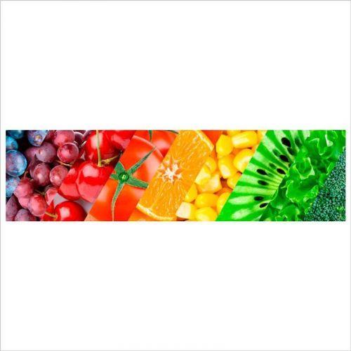 vinilo para cocina verduras y frutas