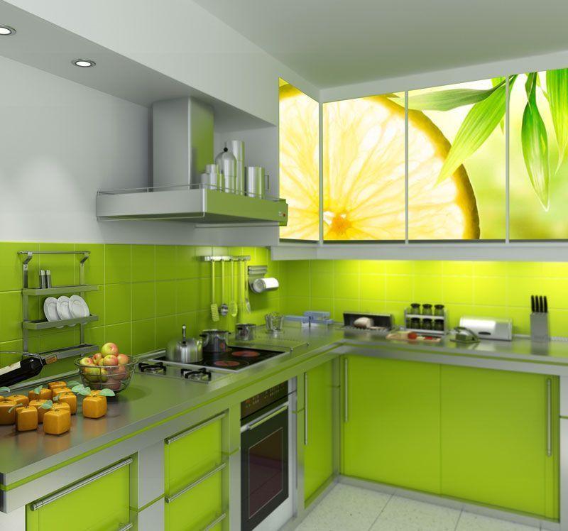 Simulacion rodaja de limon
