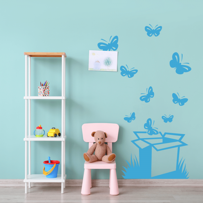 Simulacion caja de mariposas