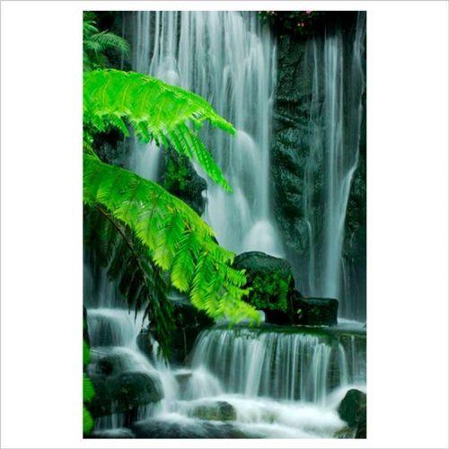 vinilos zen para baños cascada