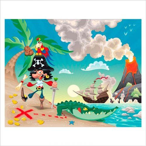 papel infantil pirata patapalo