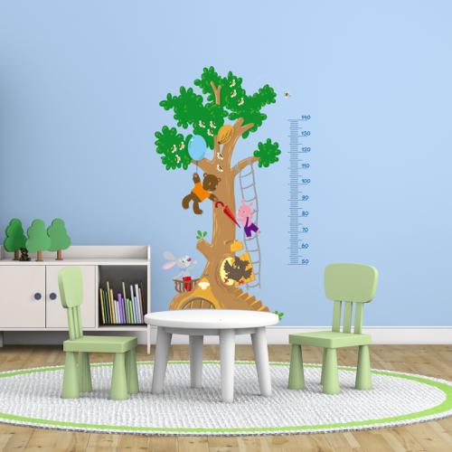 Simulacion colocacion medidor altura niños
