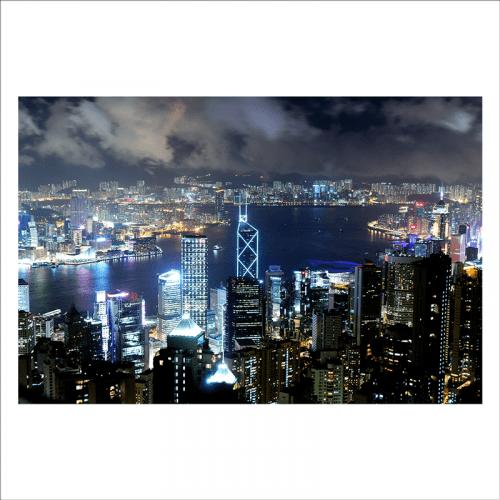 mural china, isla de Hong Kong