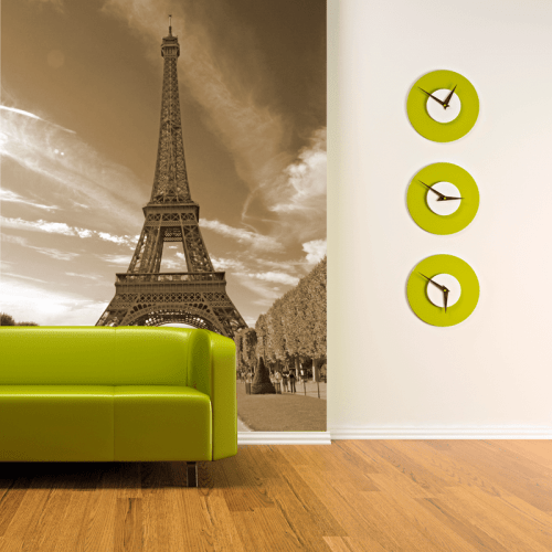 Simulación mural Torre Eiffel Páris