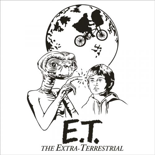 vinilo cine E.T. El extraterrestre