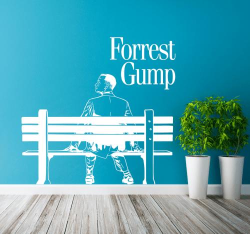 Simulacion vinilo forest gump