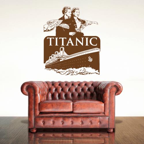 Simulacion vinilo titanic