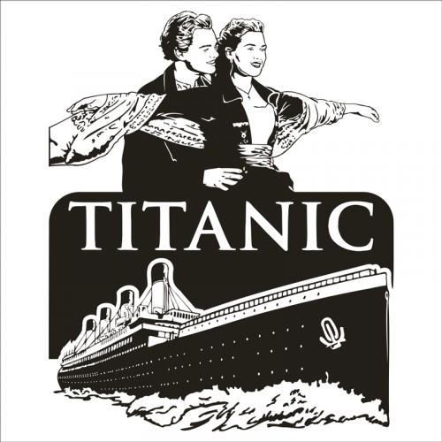 vinilo peliculas: Titanic