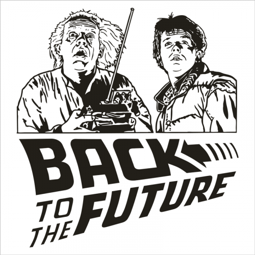 vinilo regreso al futuro