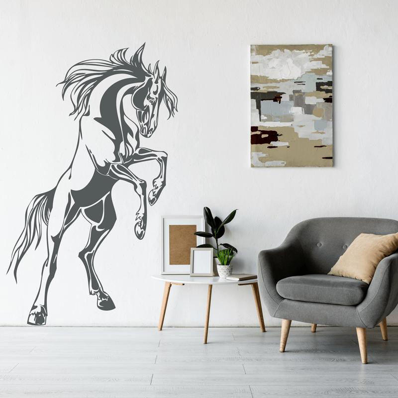 Simulación vinilo decorativo caballo