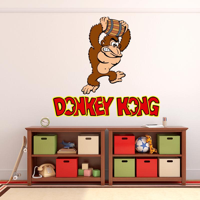 Simulación vinilo Donkey Kong