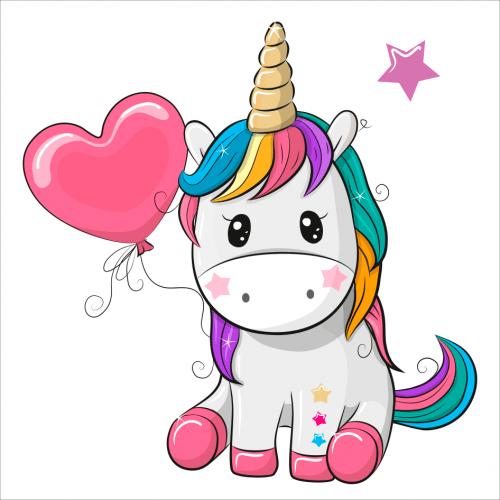 vinilo unicornio infantil