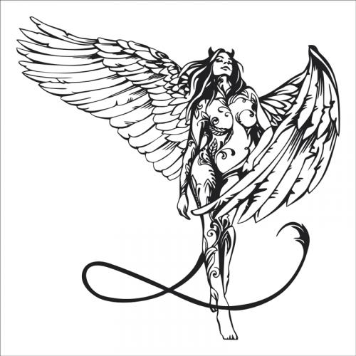 vinilos decorativos de angeles