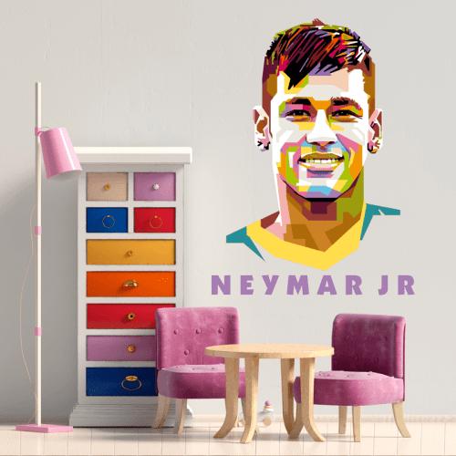 Simulación vinilo Neymar Junior
