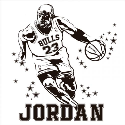 vinilo baloncesto - jorndan nba