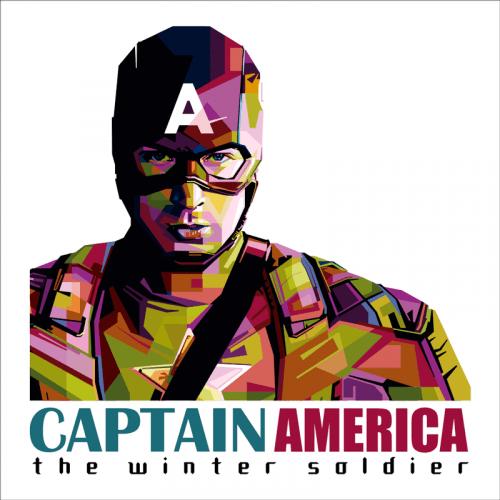 vinilo capitan america