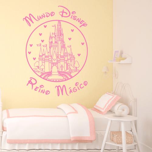 Simulación vinilo Mundo Disney, Reino Mágico