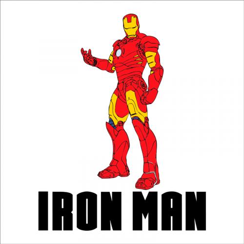 vinilo iron man
