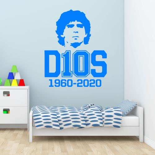 Simulacion vinilo d10s Maradona