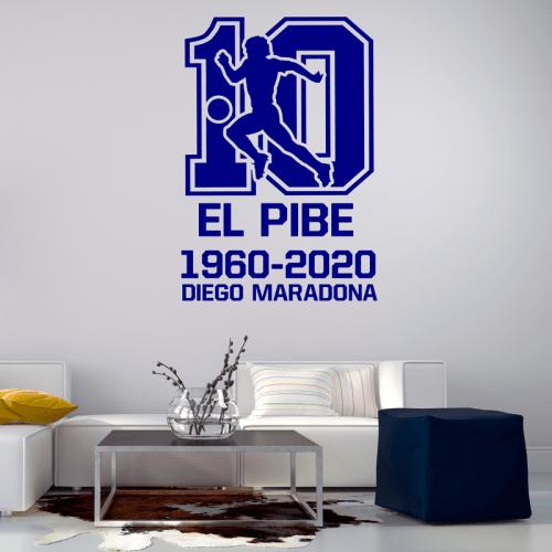 """Simulación vinilo Diego Maradona """"El Pibe"""""""
